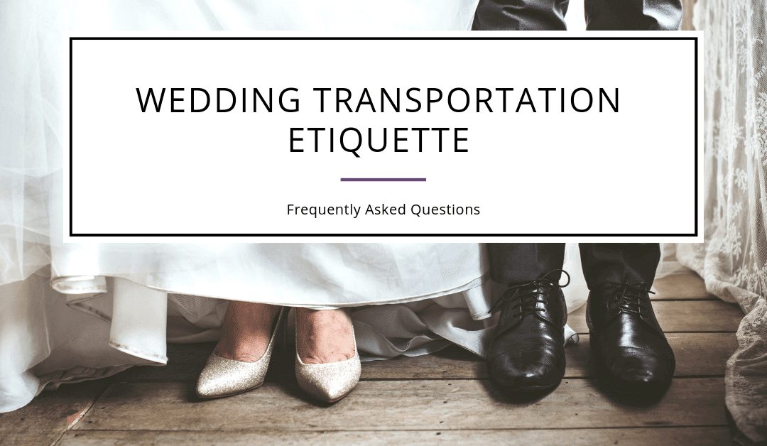 Wedding Transport Etiquette – Frequently Asked Questions