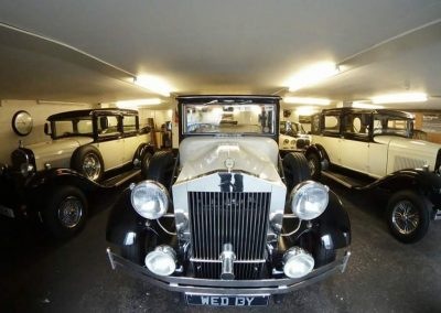 Barringtons Wedding cars garage Liverpool